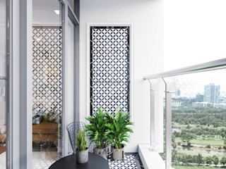 ICON INTERIOR Jardines de estilo moderno