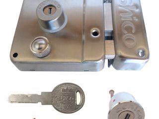 Industrial de Cerraduras Puertas y ventanasPuertas Hierro/Acero Gris