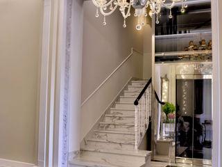 Hotel The Moon - Florence MULTIFORME® lighting Couloir, entrée, escaliersEclairage Verre Transparent