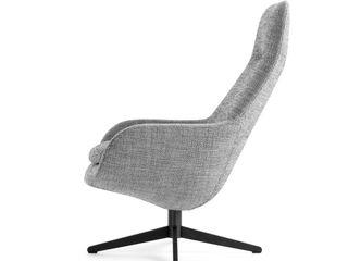 Leolux Pode Sparkle Armchair IQ Furniture SalonCanapés & Fauteuils Cuir Gris