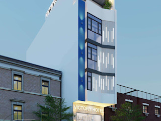 Đẹp Mắt Với Khách Sạn 5 Tầng Victory Tại Tân Bình NEOHouse