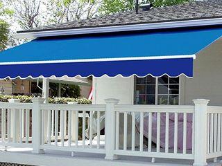 ctyhoaphatphat Balcone, Veranda & Terrazza in stile minimalista Blu
