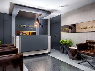 ANTE MİMARLIK Modern offices & stores