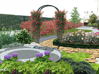 Z.H KONUTU Peyzaj Projelendirme & Landscaping Project konseptDE Peyzaj Fidancılık Tic. Ltd. Şti. Klasik Bahçe