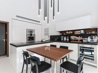 Casa in centro storico Imperatore Architetti Cucina moderna