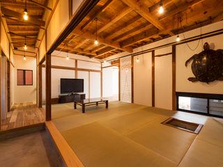 エヌ スケッチ Asian style living room