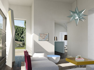 architetto stefano ghiretti Eclectic style bedroom
