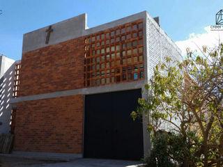 Creer y Crear. Arquitectura/Diseño/Construcción 一戸建て住宅 レンガ 多色