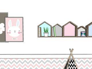 G.F Studio Design Cuartos para niñas Rosa