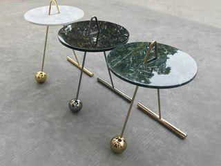 MAV Furniture Co.,ltd SalonesMesas de centro y auxiliares Hierro/Acero Negro
