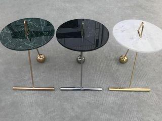 MAV Furniture Co.,ltd SalonesMesas de centro y auxiliares Hierro/Acero Blanco
