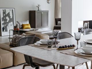 Appartamento per una coppia di edonisti contemporanei MD Creative Lab - Architettura & Design Soggiorno moderno