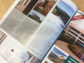 Cornwall Living Edition 78 - Cornwall Cladding Editorial Building With Frames Wooden houses Wood