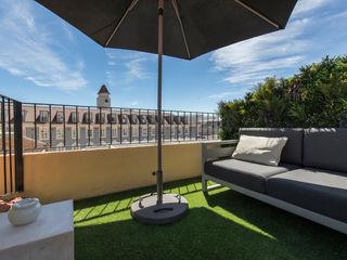Wonder Wall - Jardins Verticais e Plantas Artificiais Balcon, Veranda & Terrasse originaux