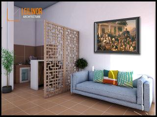 CV Leilinor Architect Minimalist living room