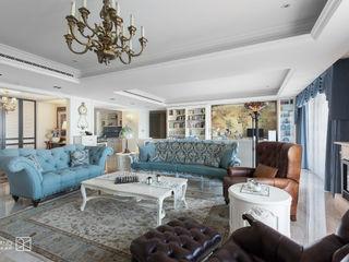 禾廊室內設計 Salas de estilo clásico