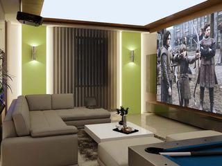 ANTE MİMARLIK Modern living room Green