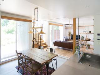 タイラヤスヒロ建築設計事務所 Industrial style kitchen