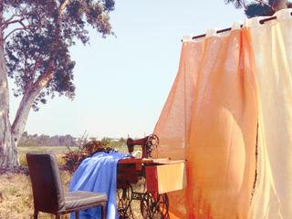 Haju 裝飾布簾|暮秋 MSBT 幔室布緹 窗戶與門窗廉與布簾 布織品 Orange
