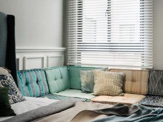 家,就是最真實的美好-百葉簾.蜂巢簾 MSBT 幔室布緹 窗戶與門窗戶 實木 White