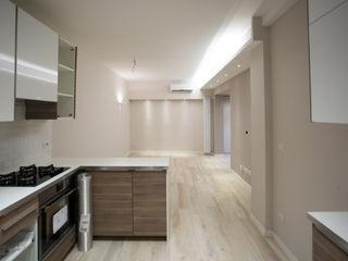 Appartamento Milano via Rembrandt - 78 mq Ristrutturazione Case Cucina moderna