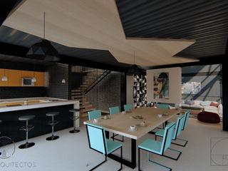 GóMEZ arquitectos Built-in kitchens