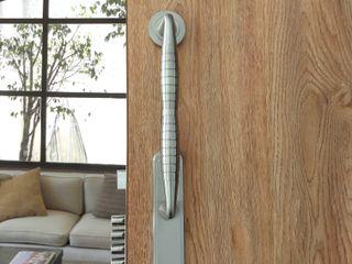 Industrial de Cerraduras Puertas y ventanasPuertas Cobre/Bronce/Latón Gris