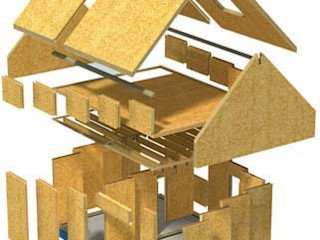 What Timber? Building With Frames Prefabricated home Wood