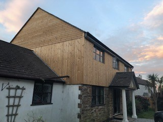 Lanner, Cornwall - Cladding Supply Only Building With Frames Single family home Wood