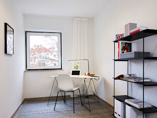 Home Staging Bavaria Ruang Studi/Kantor Modern