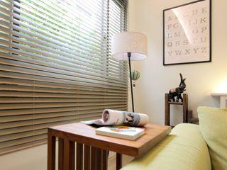 幸福感激升!使用木質系窗簾創造北歐風客廳-實木百葉簾 MSBT 幔室布緹 窗戶與門窗廉與布簾 實木 Green