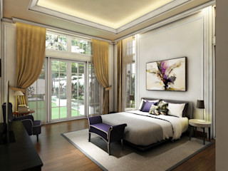 Rumah Darmo Brawijaya iwan 3Darc Kamar Tidur Modern