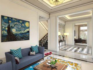 Rumah Darmo Brawijaya iwan 3Darc Ruang Keluarga Modern