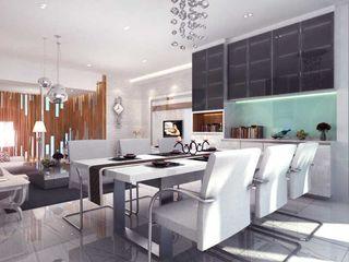 Rumah Tinggal Kemang iwan 3Darc Ruang Makan Modern
