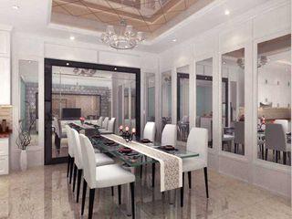 Rumah Tinggal PIK iwan 3Darc Ruang Makan Modern
