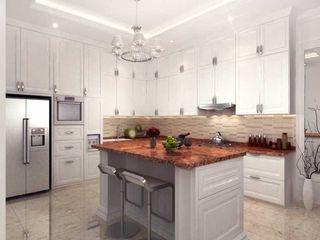 Rumah Tinggal PIK iwan 3Darc Dapur Modern