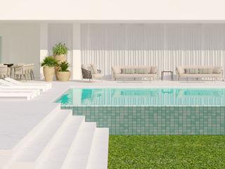 CASA MARQUES INTERIORES Garden Pool Slate