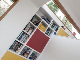 Honor Oak Red Squirrel Architects Ltd Ruang Keluarga Modern