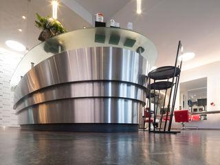 Moreno Licht mit Effekt - Lichtplaner Espaces commerciaux originaux Aluminium/Zinc Multicolore