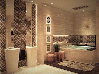 كاسل للإستشارات الهندسية وأعمال الديكور والتشطيبات العامة BathroomToilets MDF Amber/Gold