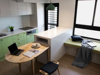 邑田空間設計 Eclectic style dining room