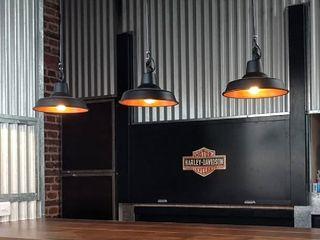 Lámparas Galponeras Colgantes Iluminación Estilo Industrial Deco Loft Lamparas Vintage Vieja Eddie EstudioIluminación Aluminio/Cinc Multicolor