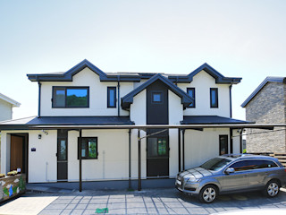더존하우징 Casas modernas