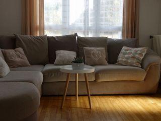 CS Déco Design Scandinavian style living room Wood Brown