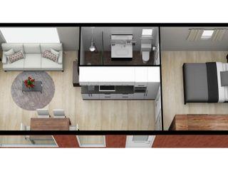 CUBE Homes Prefabricated home Wood Wood effect