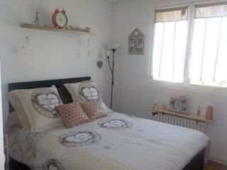 CS Déco Design Small bedroom Wood Pink