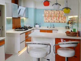 Honeybee Interior Designers KitchenCabinets & shelves