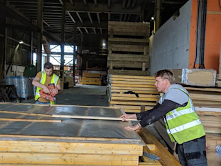 Bridgewater Somerset Project Building With Frames Prefabricated home Wood