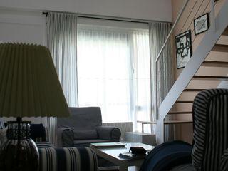 Vivienda Adosada Gala Feng Shui Interiorismo online en Azpeitia Salones de estilo moderno