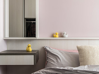 達譽設計 Modern style bedroom